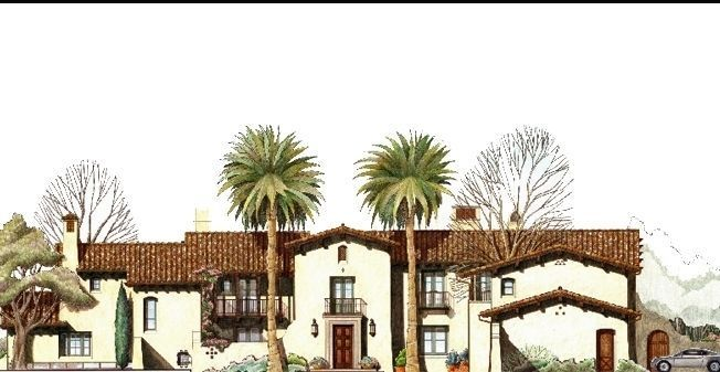 Mission Revival Style Architecture Spanish Revival Architecture Spanish Colonial Homes Mediterranean Revival Architecture
