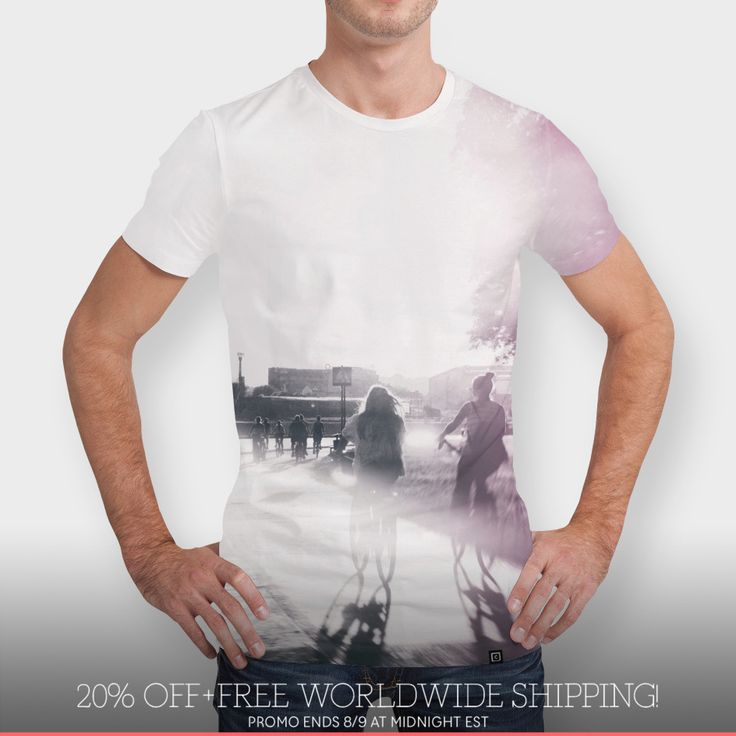 Discover «street photo JOY», Numbered Edition Men's All Over T-Shirt by Justyna Jaszke - From $39 - Curioos
