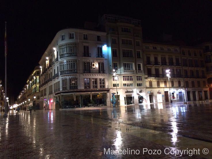 Constitución square raining