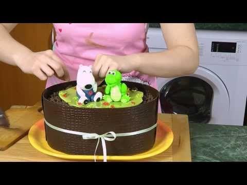 Ostravské Dortíky - Díl pátý :ukážeme modelaci  zvířátek - dětského krokodýlka