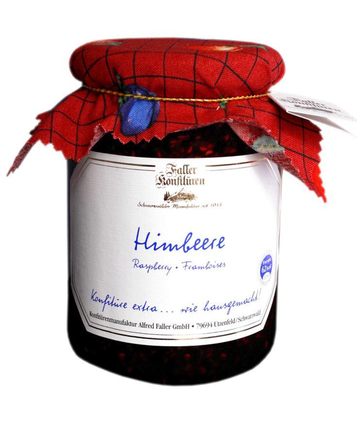 Himbeer-Marmelade aus der Konfitüren-Manufaktur Faller