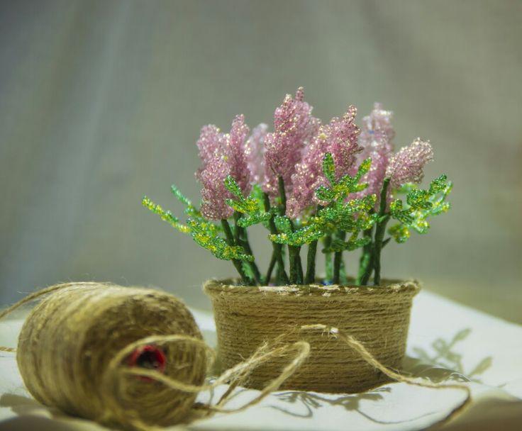 Нежная, розовая лаванда.