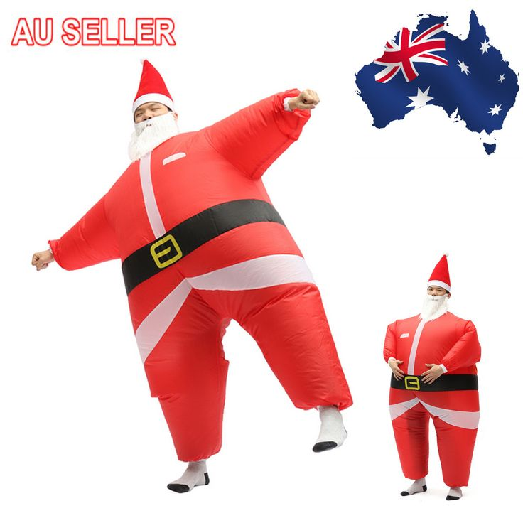 Only US$27.32 , shop AirSuits Inflatable Santa Father Christmas Fancy Dress Costume Air Blimp Suit at Banggood.com. Buy fashion Christmas Sale online.