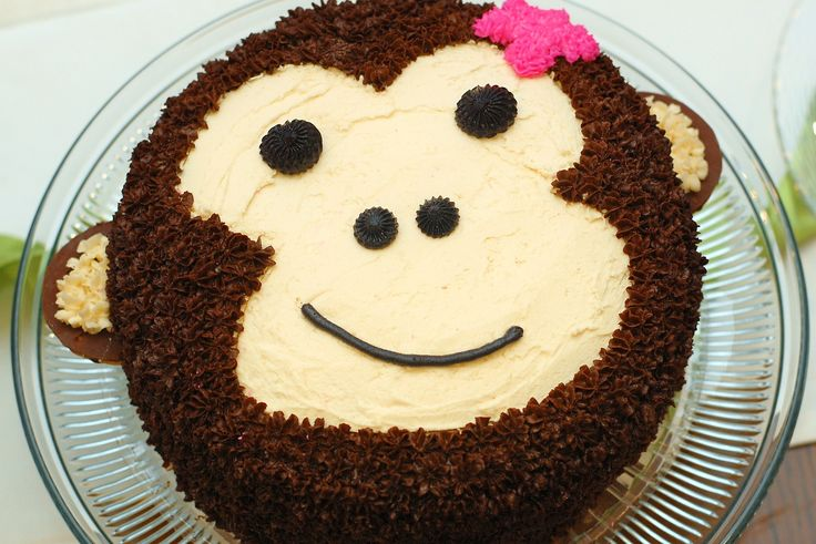 Monkey Birthday Cakes for Girls | lydia thought the cake was really cool she was also