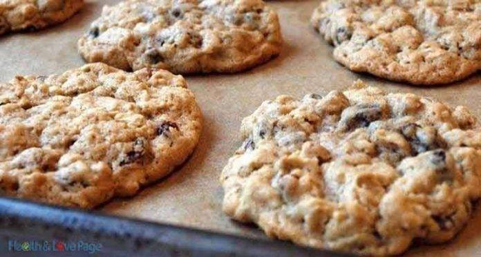 Используя только 3 ингредиента, делаем супер полезное печенье с минимальными усилиями!