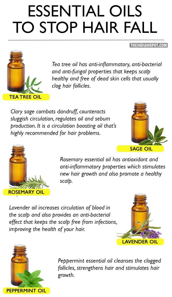 ESSENTIAL OILS TO STOP HAIR FALL HairLossRemedies Diy
