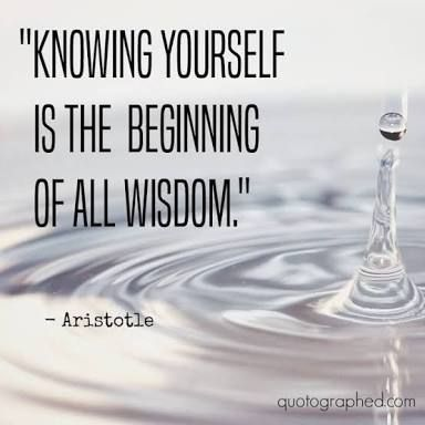 Image result for aristotle quote knowing yourself