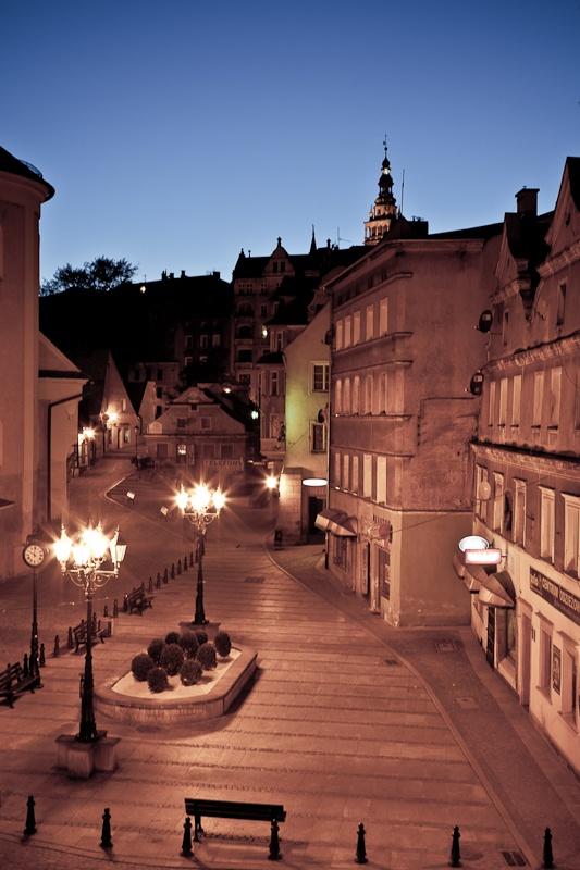 #Klodzko by night, #Poland