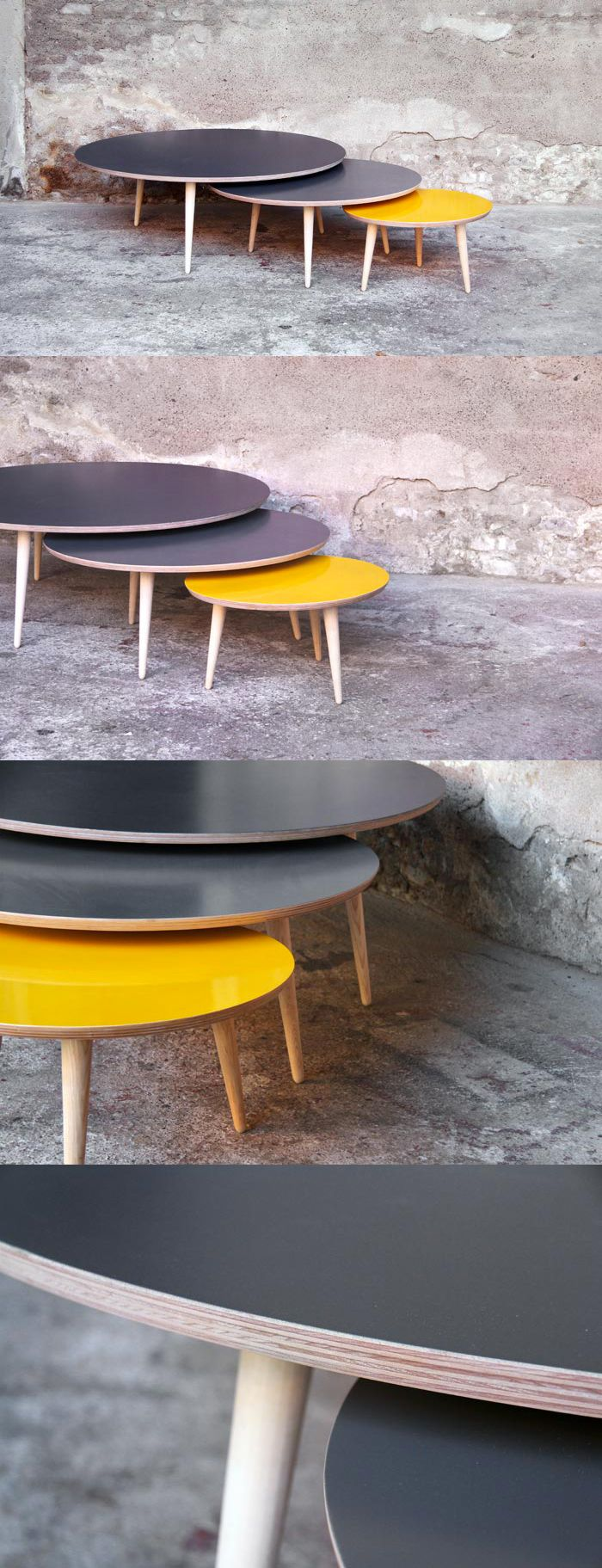1000 Id Es Sur Le Th Me Tables Gigognes Sur Pinterest Petites Tables Basses Tables D 39 Appoint