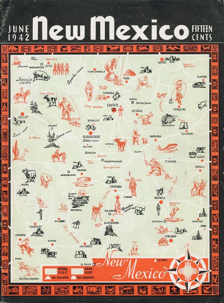 Best Gorgeous New Mexico Images On Pinterest Santa Fe News - Map of usa new mexico