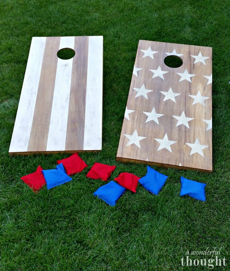 DIY Cornhole Boards - A Wonderful Thought Great tutorial on how to make DIY cornhole boards aka bean bag toss Learn how to make your own set of DIY cornhole boards with this easy tutorial. It is a perfect game to play in your backyard or during camping. Cornhole Designs, Diy Yard Games, Diy Games, Backyard Games, Lawn Games, Diy Wedding Yard Games, Wedding Ideas, Bean Bag Boards, Diy Bags Boards