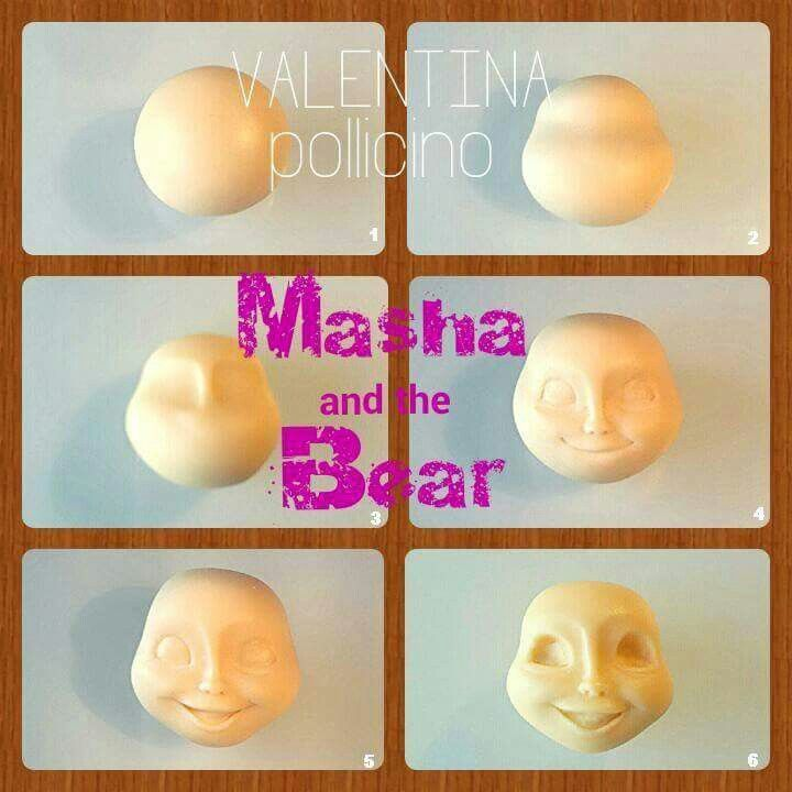 Masha and the Bear tutorial
