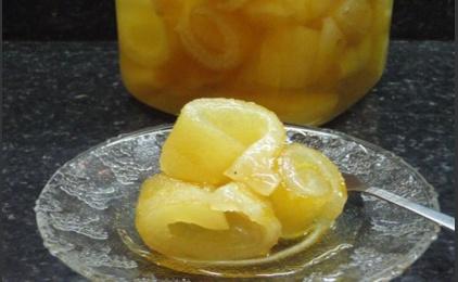 Lemon Spoon Sweet Γλυκό του κουταλιού λεμόνι