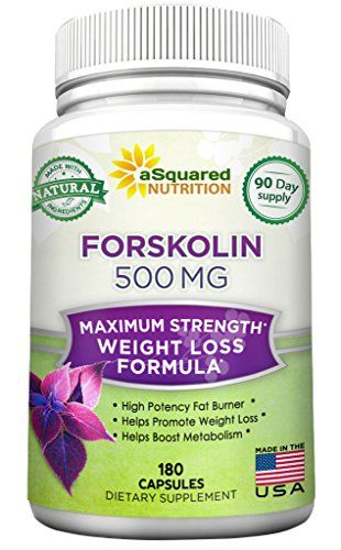 "MAX STRENGTH 500 MG PER SERVING - HIGH POTENCY AND CONCENTRATION FORSKOLIN - We are offering an all natural, pharmaceutical grade Forskolin at an amazing price. Take 500mg per day to see phenomenal results! * 180 CAPSULES, 3 MONTH SUPPLY - BEST VALUE ON AMAZON - You receive 180 veggie capsules for a FULL 90 day supply, whereas others will offer you half the amount at a more expensive price!! Best of all, our Forskolin is backed by our ""best in the industry"" 100% MONEY BACK GUARANTEE..."