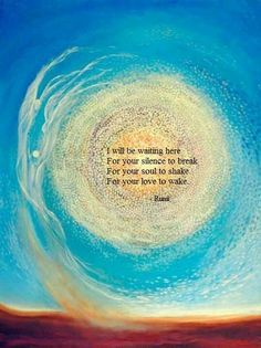 ♠️❤️❤️❤️❤️❤️❤️❤️LOVE❤️ this Poem by Rumi & LOVE❤️ the Genius one of the Quoter❗️❗️❗️i❤️♠️
