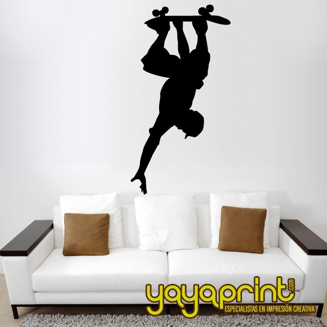 vinilo decorativo pared hecho en espaa vinilos de deportes urbanos