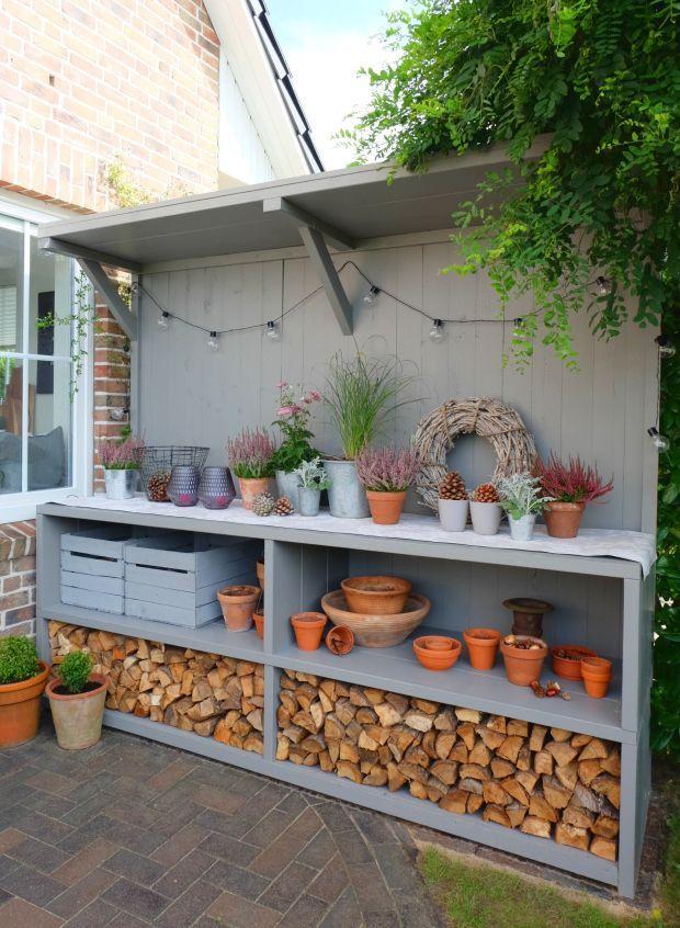 Gartenküche, Pflanzentische, Bar oder einfach nur super cooler Allrounder …  #allrounder #cooler #einfach #gartenkuche