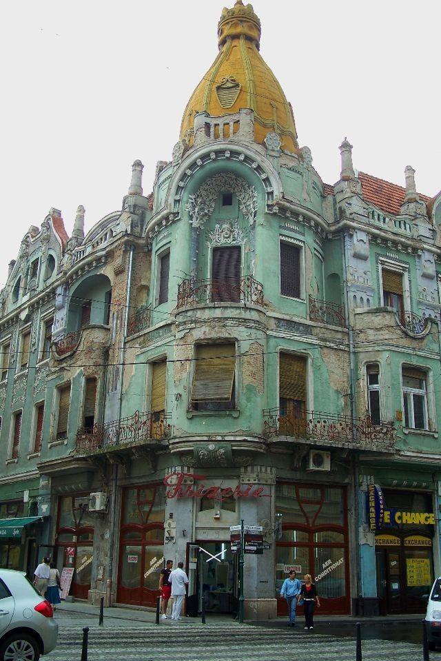 Oradea, Romania. Walked past this so many times.