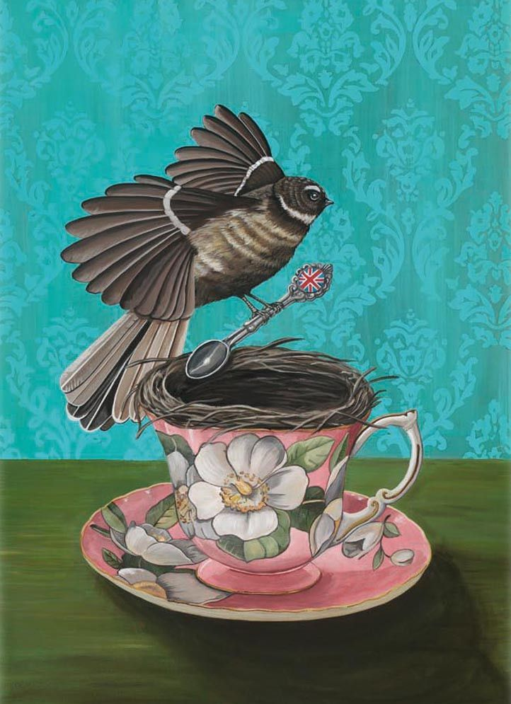"""Limited Edition - Angie Dennis """"Feathering the Nest"""""""
