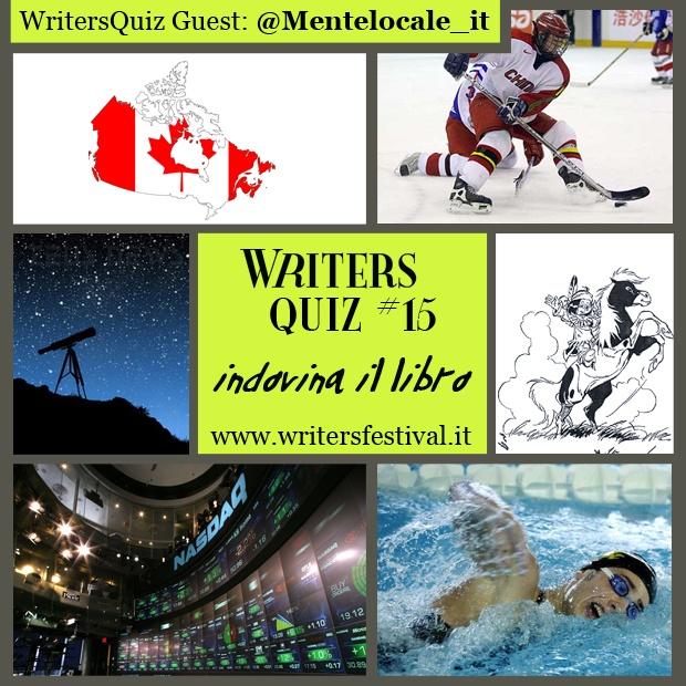 Il WritersQuiz Guest di questa settimana è proposto dal nostro media partner Mentelocale !    Il quiz #15 è un #indovinaillibro e per chi lo indovina davvero! in palio un ingresso omaggio al Museo del'900 di Milano !!!    Come sempre per partecipare e vincere:    1. iscrivetevi alla newsletter di Writers ;    2. inviate la risposta esatta  all'indirizzo email press -at- writersfestival.it .    Il vincitore estratto potrà ritirare il suo premio durante l'evento Writers! (24-25 novembre 2012)