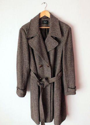 Kup mój przedmiot na #vintedpl http://www.vinted.pl/damska-odziez/plaszcze/12660825-plaszcz-na-wiosne-ff-szary-melanz-piekny-dwurzedowy