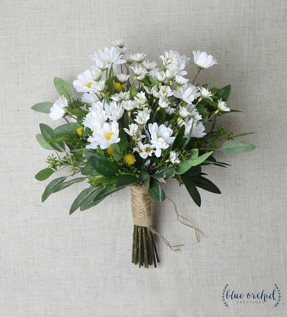Daisy Bouquet Wedding Bouquet Wildflower Bouquet Wedding