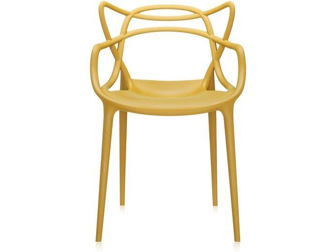Krzesło Masters musztardowe Kartell