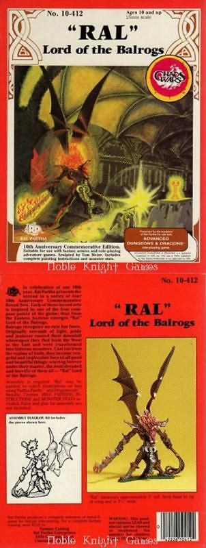 Ral Partha 16489: Ral Partha Fantasy Mini Advanced Dungeons And Dragons - Ral Lord Of The Box Sw -> BUY IT NOW ONLY: $69.95 on eBay!