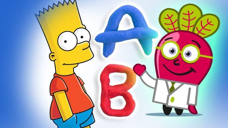 abc abecedario simpsons espanol forkids infantil videos infantiles