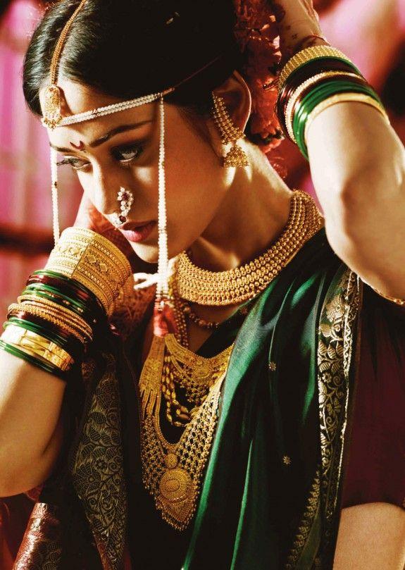 Tanishq Maharastrian Bride Jewelry