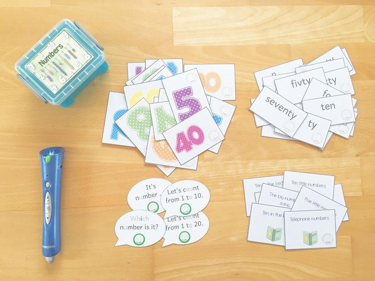 materialwiese: Themenbox numbers für die Wortschatzkiste im Englischunterricht der Grundschule