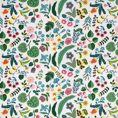 Textile Milles Fleur Cotton designed by Josef Frank for Svenskt Tenn (originally called Tulip)