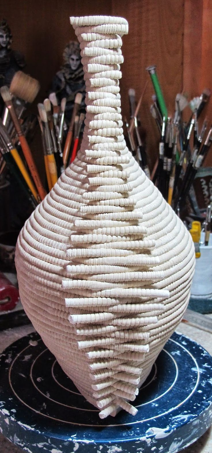 392 Best Images About Ceramics Coiled Woven Amp Patched