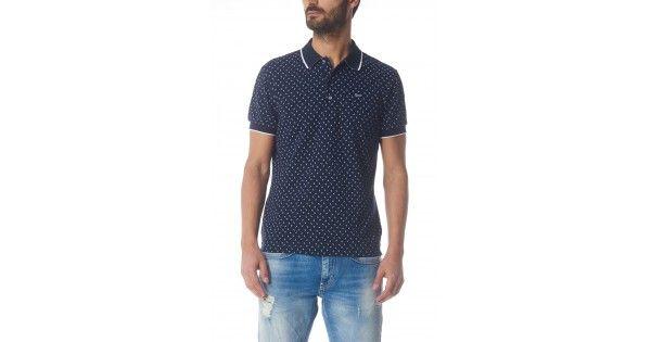 Πόλο T-shirt Gas Jeans. Σύνθεση 98% cotton 2% elastan.e-funky.gr