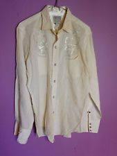 Vintage 1950s? Women's embroidered Rockabilly shirt H Bar C Ranchwear exclusive