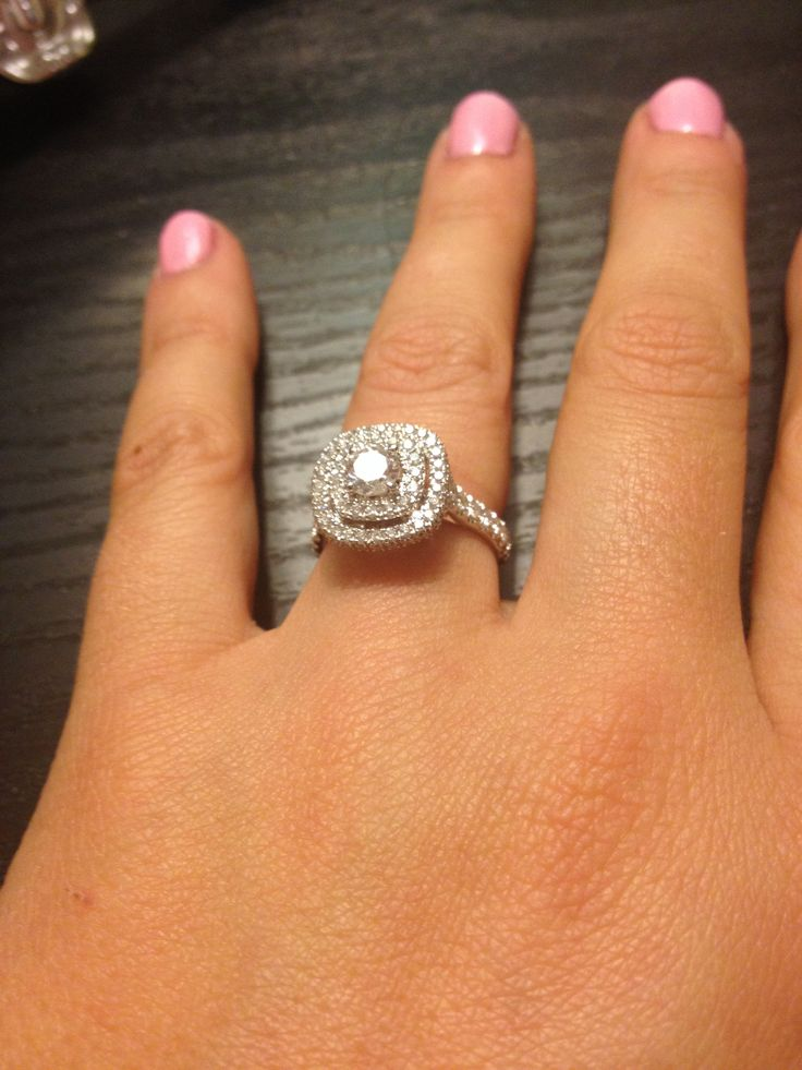 Kay Jewelers Double Halo Engagement Rings