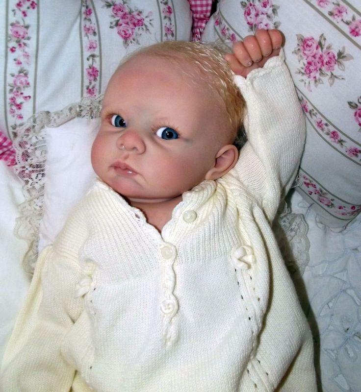 Reborn Baby Doll Bethany Sculpt By Linda Murray Coa 5