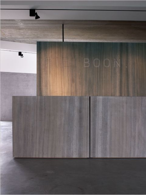 Reception desk at Piet Boon office. #office #architecture