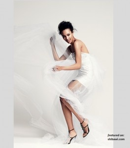 Short Sexy Wedding Dresses for 2012 Collection by Anne Bowen