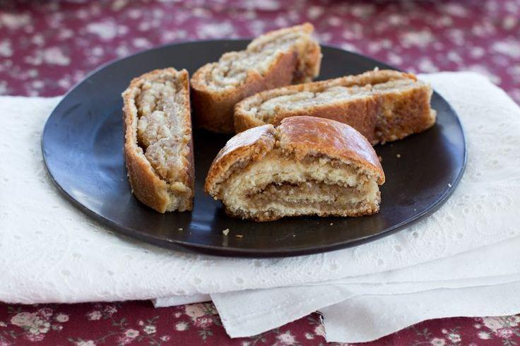 Orechovnik (Slovak Nut Roll)   dramatic pancake