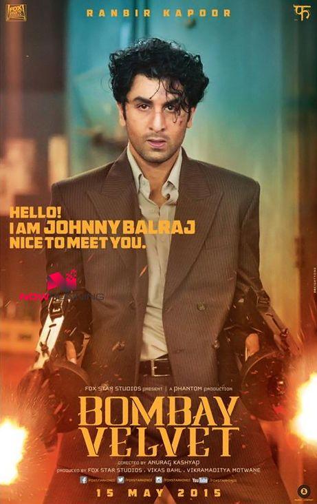 Bombay Velvet First Look Poster