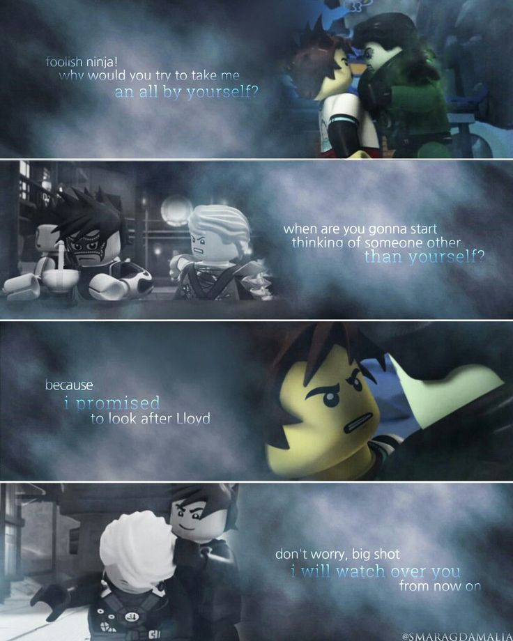 » #LEGO #NINJAGO #S4 #S5 » #Lloyd #Kai #Morro » { Lloyd and Kai's quote } #quote » { 4.01//5.01 } #parallel » My Edit » Hope you'll like it