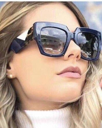 6fb74f8e88578 Óculos de Sol Fendi – Facets – FF 0263 S – Azul Marinho