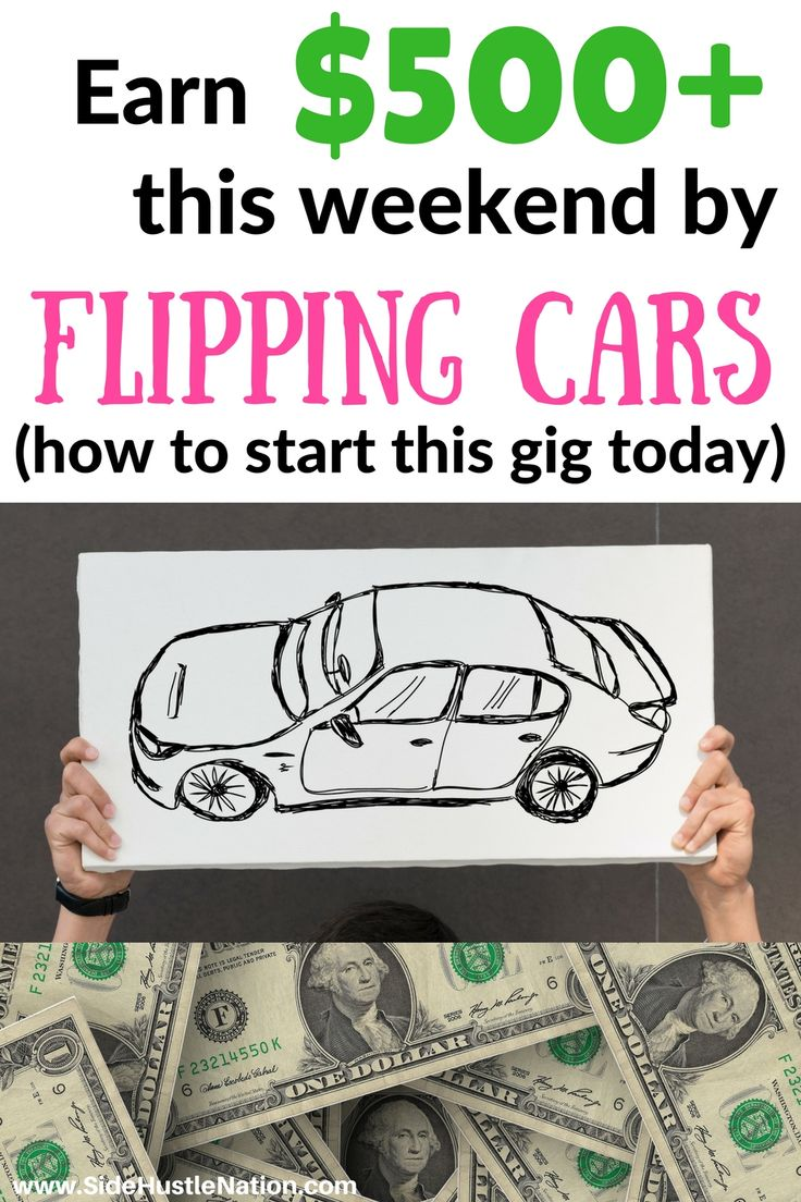 Great way to earn some extra money this weekend, this is easier than I thought it would be! How to earn $500+ by flipping cars is an awesome step by step how-to guide. Excited to get started, great way to make money from home and earn extra cash! Freelancers, entrepreneurs, side hustlers, and WAHs check out these best tips for flipping cars and making extra money this weekend.