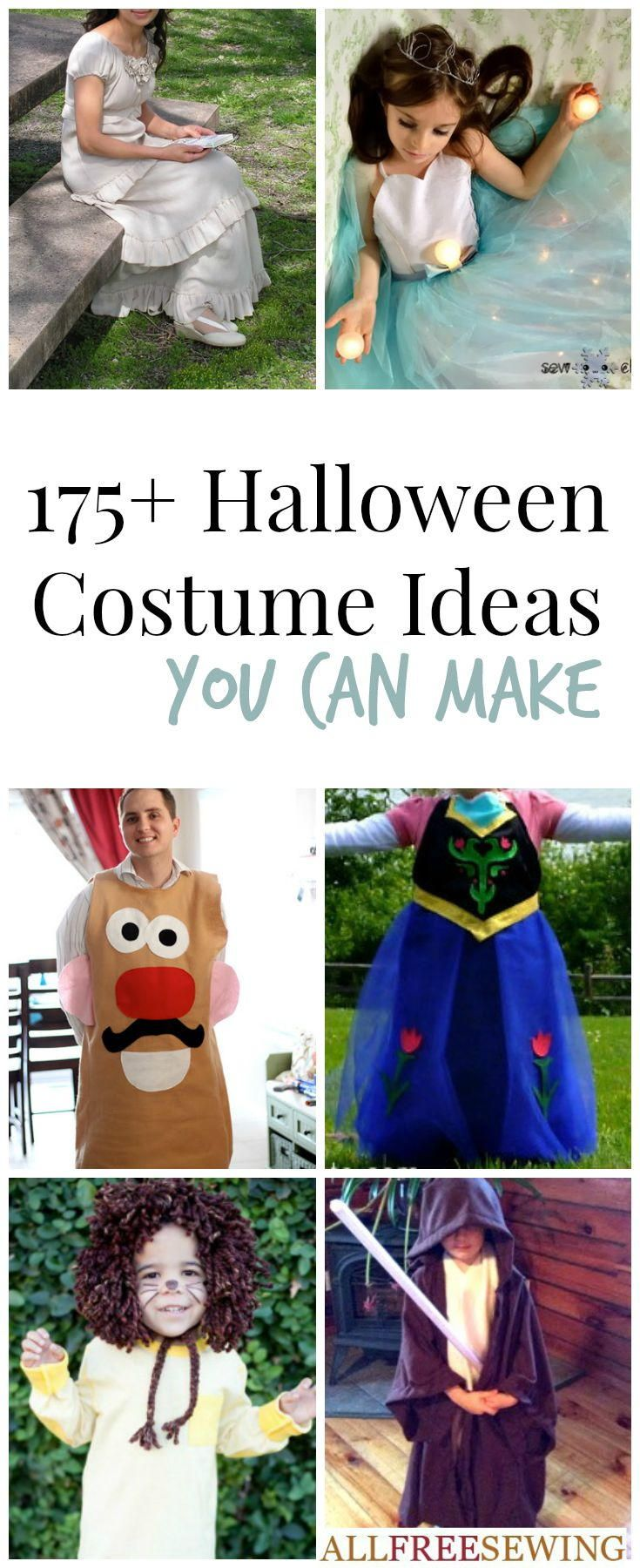 Halloween Costume Patterns and DIY Costume Ideas | AllFreeSewing.com