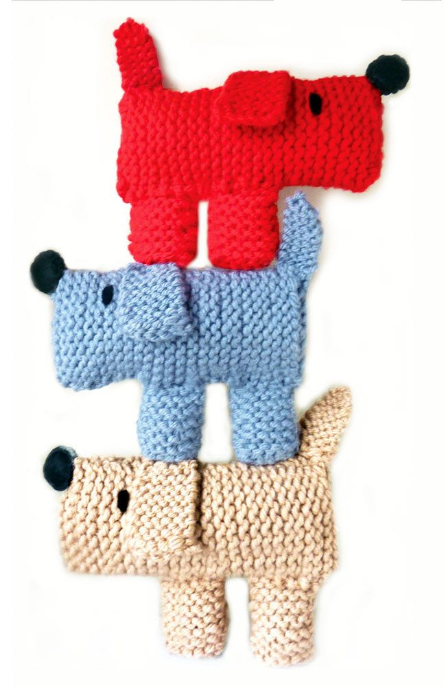 Scruff the Dog Learn to Knit Kit is a cute kit that will make one Scruff. The…