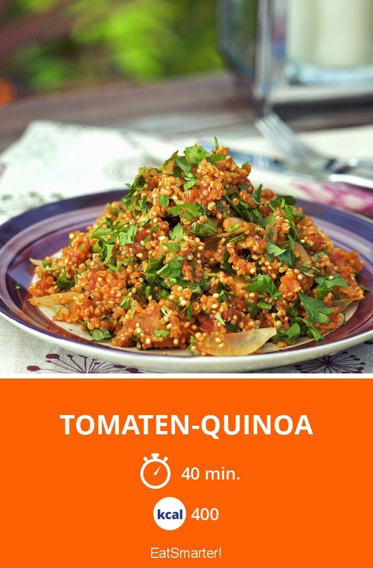 Tomaten-Quinoa - smarter - Kalorien: 400 Kcal - Zeit: 40 Min. | eatsmarter.de (Vegan Healthy Protein)