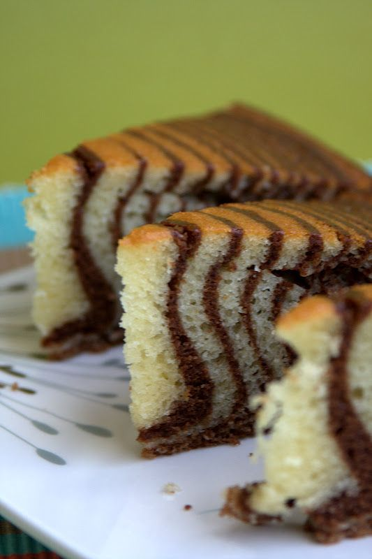 el gato goloso: Torta Cebra