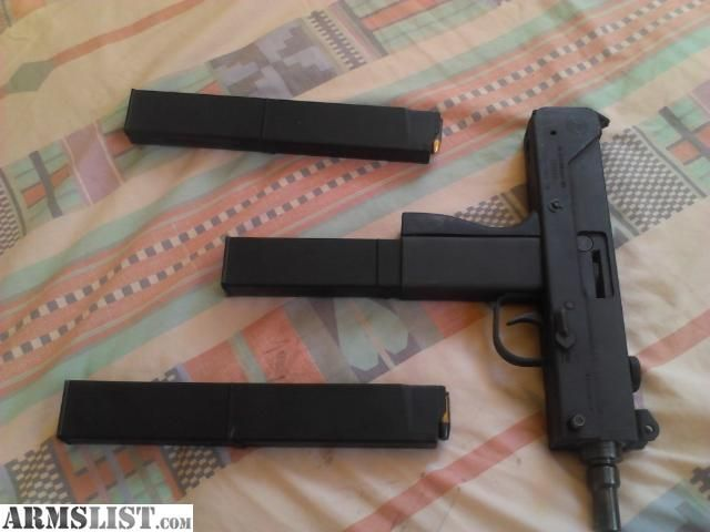 MAC-10 | Edit | Favorite I have a mac 10 9mm with 3 mags ...