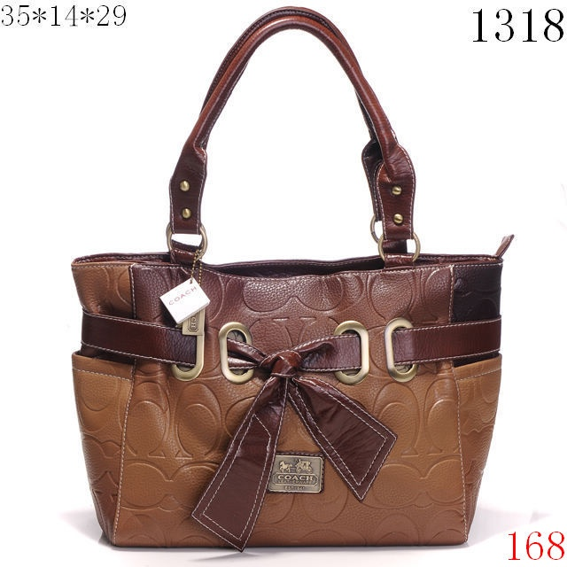 coach bow leather handbags outlet x1318 brown purse obsession pinterest leather leather. Black Bedroom Furniture Sets. Home Design Ideas